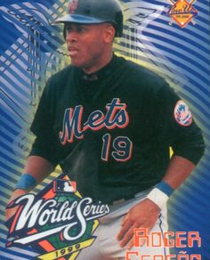 Roger Cedeño World Series 1999 New York Mets Baseball, Ny Mets, Baseball Players, Baseball Cards, World Series, Old And New, Mlb, Sports, Hs Sports