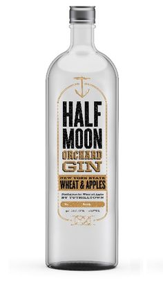 """Tuthilltown Spirits, New York State's first whiskey distiller since Prohibition & makers of Hudson brand whiskeys, announces the impending release of """"Half Moon Orchard Gin""""."""