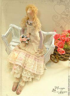 Купить Кукла в стиле Бохо: Элис - тильда, кукла Тильда, куклы тильды, текстильная кукла