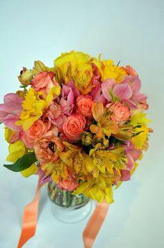 Yellow and orange bouquet
