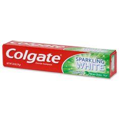 Colgate Sparkling White Toothpaste 2.5 oz travel size