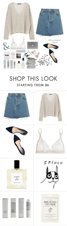 """""""Cringyyyy"""" by joycereina ❤ liked on Polyvore featuring RE/DONE, MANGO, Cole Haan, Mimi Holliday by Damaris, House by John Lewis, Korres, Forever 21 and NARS Cosmetics"""