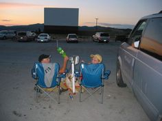 the drive-in at Silver Bow, Mt