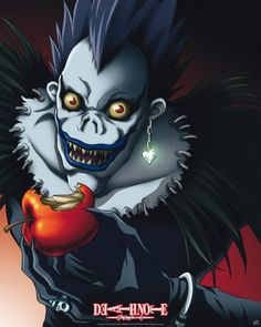Ryuk, my favorite character in death note hoho