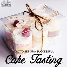 How to Create a Successful Cake Tasting