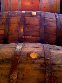 Beautiful Whiskey Barrels
