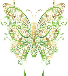 papillons, butterfly,tubes
