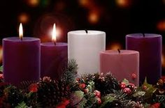 Updated to include Christmas Eve and an Advent Carol of response. It's time for Advent wreath liturgies again. This year I've done my utmost to tie the Narrative Lectionary texts to the Advent them. Pink Candles, Pillar Candles, Candels, Third Sunday Of Advent, Joy Quotes, Advent Season, Christmas Eve, Christmas Verses, Blue Christmas
