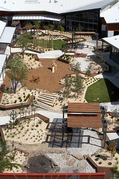 Affordable Playground Design Ideas For Kids - Playground design, Playground landscaping, Playgrounds architecture, Landscape architecture design, - Playground Design, Backyard Playground, Children Playground, Playground Ideas, Modern Playground, Modern Landscaping, Backyard Landscaping, Landscaping Software, Outdoor Play Spaces