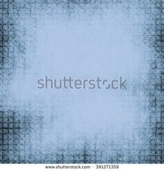 Geometrical shabby pattern with a blue background. A retro a substrate under the text. Advertizing form, invitation card.