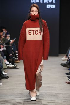 ETCH Ready To Wear Fall Winter 2018 Seoul