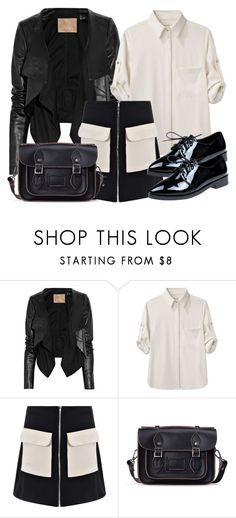 """""""Elijah Inspired Outfit - The Vampire Diaries / The Originals"""" by fangsandfashion ❤ liked on Polyvore featuring Max Azria and rag & bone"""