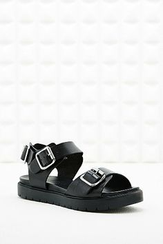 Out From Under Becca Buckle Footbed Sandals - Urban Outfitters