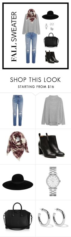 """Fall Cosy Sweater"" by theredpoppy ❤ liked on Polyvore featuring Madewell, Vince, BP., Stephane Kélian, Maison Michel, Marc by Marc Jacobs, Givenchy, Sophie Buhai, Gucci and cozy"