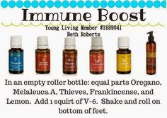 Young Living Essential Oils: Immune System
