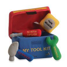 My Plush Baby Tool Kit with Sound