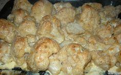 Öntött karfiol recept fotóval