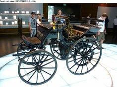 Daimler Motorkutsche   (1886-1886) ✏✏✏✏✏✏✏✏✏✏✏✏ IDEE CADEAU / CUTE GIFT IDEA  ☞ http://gabyfeeriefr.tumblr.com/archive ✏✏✏✏✏✏✏✏✏✏✏✏