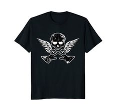 Skull Wings Guitars #Biker #Rock #Shirt by Scar Design. Click and #shop this #cool #shirt on my #amazon store! #Great gift for Every rebel, biker, rocker and badass attitude men, women and children. #rock #skull #musician #rebel #biker #tees #tshirt #tees #clothing #39 #apparel #wings #badass #apparel #guitars #guitar #metal #music #gifts #woman #men #death #rockstyle #style #fashion #tshirts #bikerclub