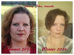 My teammate Stephanie!!!!  WOOHOOOO!!!!!!  This is me, Stephanie G, sometime this past summer probably July 2013. I started Skinny Fiber in August. The other one was taken tonight (January 18th, 2014). I have lost a total of 36lbs since the summer. I cant attribute all of that to Skinny Fiber. I was really unhealthy, due my Diabetes going off the rails. I, at my highest was 232. I began losing weight and not even trying to. I then learned that due to my sugars being so high, it can cause ...