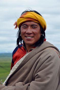 Khampa uit het het Tibetaanse Hoogland. Kijk voor meer reisinspiratie op www.nativetravel.nl