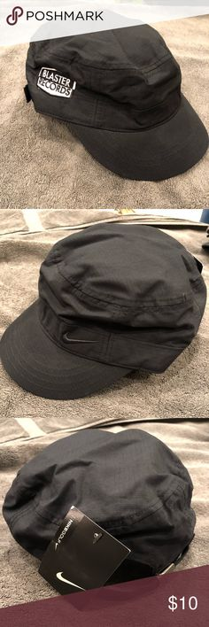 64f17a54e04 Nike Military style hat with Blaster Records logo Nike brand Military style  hat with Blaster Records