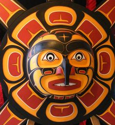 Haida mask. I Love Native Canadian art!
