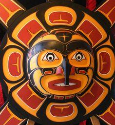 Haida mask. I Love Native Canadian art!