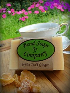 White Tea and Ginger Soap | Bend Soap Company
