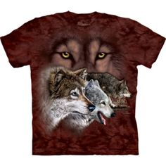 Tricouri The Mountain – Tricou Find 9 Wolves