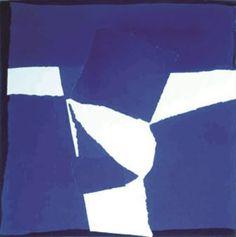 Sandra Blow | Blue Square Collage