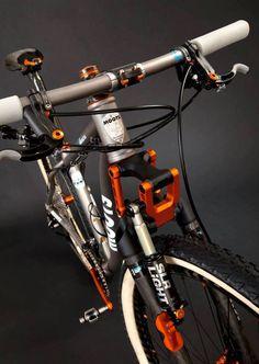 ♂ Modern Bike with orange details