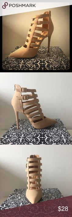 NIB Caged Stiletto Heels Brand New ..  In Original Shoe Box .. 🌸  Taking Offers 🌸 Shoes Heels