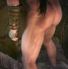 7/9/14  3:18a  Jason Momoa  ''Game of Thrones''   Muscled  Butt  ohrheally.com
