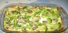Zapečená mísa s brokolicí a žampiony – upečeno během 30 minut!