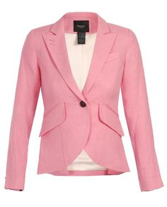 Washed Linen Blazer by SMYTHE at Browns Fashion for £555.00£335.00