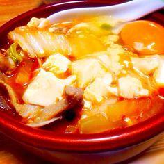 スンドゥブの素でっ(≧∇≦) お餅に、大根、豚肉、お野菜たっぷり!! - 6件のもぐもぐ - スンドゥブ by alohamahaloy