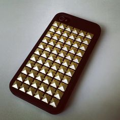 free people studded phone case