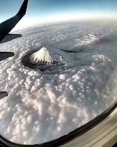 Clouds against Mt Fuji is part of Beautiful places - points Beautiful Places To Travel, Beautiful World, Beautiful Beautiful, Beautiful Pictures, Love Images, Amazing Photos, Monte Fuji, Natural Phenomena, Nature Pictures