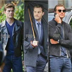 Christian through the trilogy...Grey, Darker & Freed
