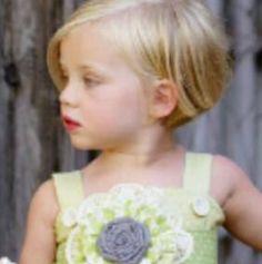 If Henrik was a girl I would totally give him this haircut.  So Cute. Toddler Bob Hair Cut