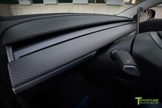 Tesla Model 3 Carbon Fiber Interior Trim by T Sportline