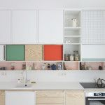 Colour-block kitchens by Dries Otten