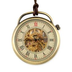 Style No. 10 Mechanical Pocket Watch  - Antique Gold