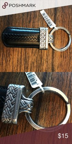 Brighton Leather Keychain NWT. More. Brighton jewelry available in my closet. Bundle and save! Brighton Accessories Key & Card Holders