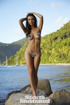 Emily Ratajkowski in the new Sports Illustrated Swimsuit Issue. Beautiful photography by Walter Iooss and an even more beautiful Emily. Enjoy miss Ratajkowski on the beautiful beaches of St. Lucia in different swimsuits and a body paint series that will blow your mind! For videos visit swimsuit.si.com.