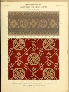 Gallery.ru / Фото #46 - Motifs de Broderie Copte 611 - shtushakutusha