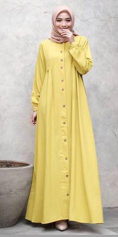 Frock Fashion, Modesty Fashion, Abaya Fashion, Suit Fashion, Fashion Outfits, Mode Abaya, Mode Hijab, Estilo Abaya, Hijab Bride