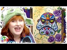 How to paint Dia De Los Muertos StormTrooper May the Fourth be with you Star Wars - YouTube