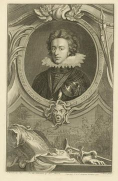 Jacobus Houbraken - Henry Prince of Wales. Engraving, 1738, after a painting by Oliver Henry Prince of Wales Son of King James I, in the collection of Dr. Mead.